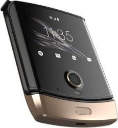 Motorola Razr zlatý