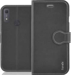 Fonex Identity knižkové puzdro pre Huawei Y6s, čierna