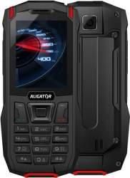 Aligator K50 eXtremo čierno-červený