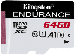 Kingston Endurance 64 GB micro SDXC/Class 10