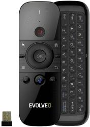 Evolveo FlyMotion D1 čierny diaľkový ovládač s klávesnicou