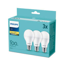 PHILIPS LED 13W E27 WW 3ks