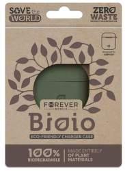 Forever Bioio ochranné puzdro pre Apple AirPods, zelená