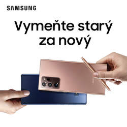 Získajte späť až do 630 € za váš starý telefón pri kúpe Samsung Galaxy Note20
