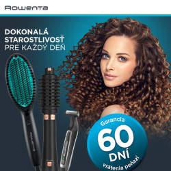 60 dní záruka vrátenia peňazí na produkty Rowenta