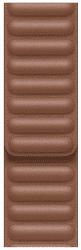 Apple Watch 44 mm kožený remienok sedlovo hnedý M/L
