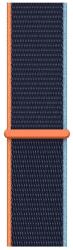 Apple Watch 40 mm športový prevliekací remienok námornícky tmavomodrý