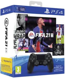 Sony PS4 Dualshock 4 v2 čierny + FIFA 21