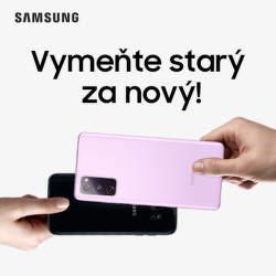 Získajte 200 € bonus za váš starý telefón pri kúpe Samsung Galaxy S20 FE alebo Note20