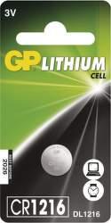 GP CR1216 1ks - lítiová gombíková batéria