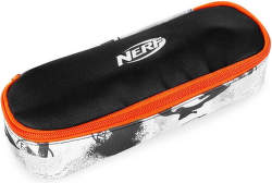 Easy NERF školské puzdro čierno-oranžové