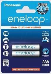 Panasonic Eneloop AAA 2ks BK-4MCCE-2DE