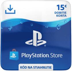 Sony PlayStation Store 15 eur - Digitální produkt