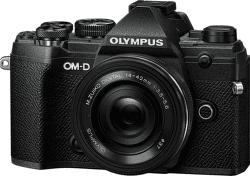 Olympus E-M5 Mark III Pancake Zoom Kit 14-42mm EZ čierna