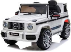 SparkTech Mercedes G63 AMG elektrické autíčko biele