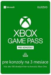 Xbox Game Pass pre konzoly EU 3-mesačné členstvo - Digitálny produkt