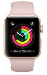 Renewd - Obnovené Apple Watch Series 3 42mm zlato-ružová