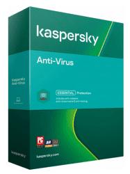 Kaspersky Anti-Virus 3PC/1R 2021 Nová Box + Safe Kids na 6 mesiacov