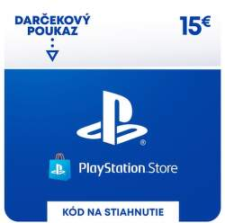 PlayStation Store 15 eur - Digitálny produkt