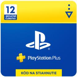 PlayStation Plus SK 12-mesačné členstvo - Digitálny produkt