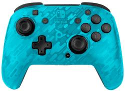 PDP Faceoff Wireless pre Nintendo Switch modrý