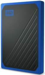 Western Digital My Passport Go SSD 2TB USB 3.0 modrý
