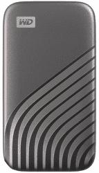 WD My Passport SSD 1TB USB-C sivý