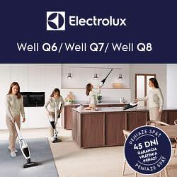 45 dní záruka vrátenia peňazí na vysávače Electrolux