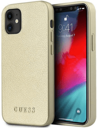 Guess puzdro pre Apple iPhone 12 mini zlaté