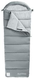 Naturehike prateľný spacák M400 bavlnený 1850g sivý