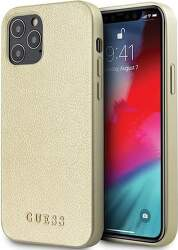 Guess puzdro pre Apple iPhone 12/12 Pro zlatá