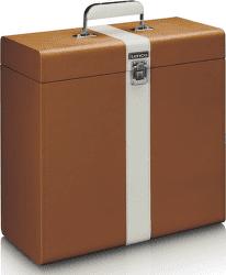 Lenco TTA-301 hnedo-biely kufor na LP platne
