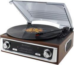 Soundmaster PL196H hnedé gramorádio