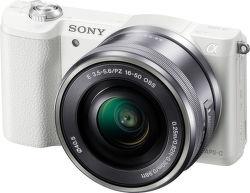 Sony Alpha 5100 + 16–50 mm F3,5–5,6 OSS (biely)