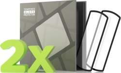 Tempered Glass Protector 3D tvrdené sklo pre Honor Band 5 čierna (2 ks v balení)