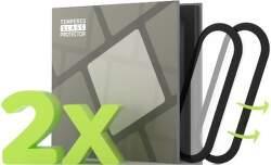 Tempered Glass Protector 3D tvrdené sklo pre Xiaomi Mi Band 6 čierna (2 ks v balení)