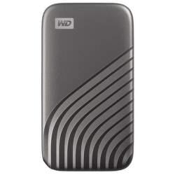 WD My Passport SSD 500GB USB-C sivý