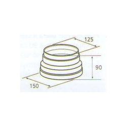 ELICA 1052 M, plastove rozvody 150mm