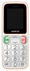 Aligator A320 Senior bielo-oranžový