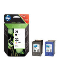 HP SD367AE No.21 + No.22 color - atrament