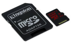 KINGSTON 64GB Micro SDXC UHS-I U3 - pamäťová karta