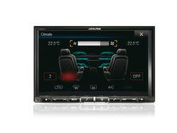 ALPINE X800D-U - multimediálna navigácia do auta