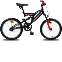 "OLPRAN Miki 18"", Bicykel, čierna"