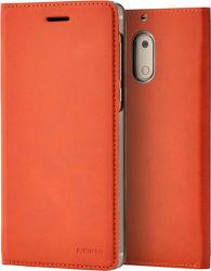 Nokia Slim knižkové puzdro pre Nokia 3, hnedá