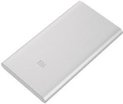 Xiaomi Mi powerbanka 5000 mAh, strieborná
