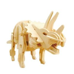 Rokr Triceratops 3D puzzle