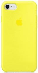 Apple silikónové puzdro pre iPhone 7/8, žltá
