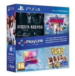 PlayLink Bundle - Hidden Agenda, Knowledge is Power, Sing Star Celebration a That 's You - PS4