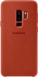 Samsung Alcantara pre Samsung Galaxy S9+, červené