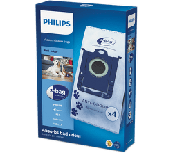 Philips FC8023/04 Anti-Odour S-Bag vrecká do vysavača (4ks)